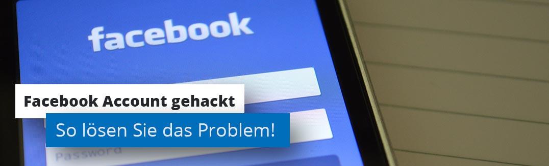 Facebook Account gehackt